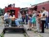Dzień Dziecka 2008, przejazd drezyną
