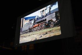 Święto Kolejarza 2012, pokaz slajdów Tadeusza Suchorolskiego