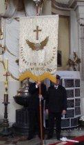 Święto Kolejarza 2012, msza w kościele św. Jakuba