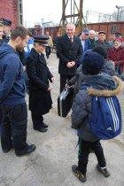 Święto Kolejarza 2012, wizyta Prezydenta miasta Skierniewice