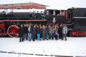 Zimowa wizyta uczniów