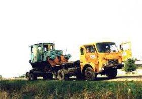 Ls40-4567, przewóz drogowy