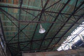 Wyremontowany dach w hali wachlarzowej