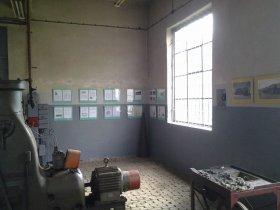 Pierwszy Dzień Otwarty 2013, wystawa Tomasza Kozłowskiego w kuźni