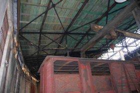 Wyremontowany dach hali wachlarzowej