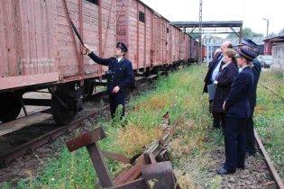 Prezentacja węgierskich wagonów
