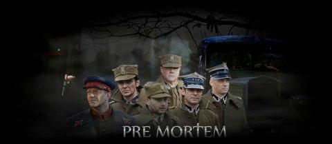 Pre Mortem, banner