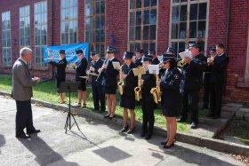 Ostatni Dzień Otwarty w Parowozowni, 2013,Orkiestra dęta OSP Maków