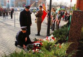 Odsłonięcie pomnika przyjaźni polsko-węgierskiej