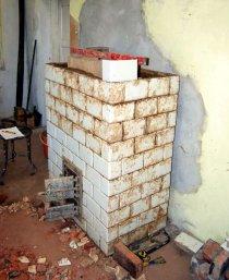 Budowa pieca kaflowego
