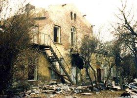 Ruiny stacji Warszawa Stalowa