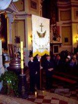 Święto Kolejarza 2013, msza w kościele św. Jakuba
