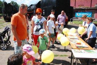 Dzień Dziecka 2014 - stoisko PLK