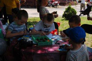 Dzień Dziecka 2014 - stoisko plastyczne