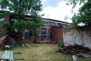 Remont dachu ze środków ŁWKZ - rusztowania