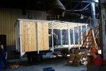 Piwiarka - montujemy pierwszą ścianę