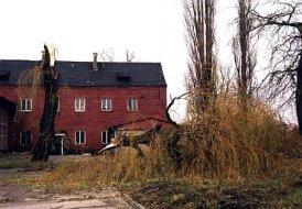 Wichura, zniszczenia na terenie Parowozowni