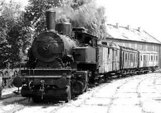 Pociąg z czasów II Rzeczypospolitej