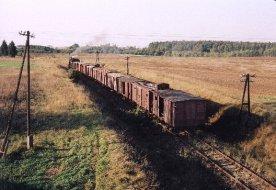 Boża Podszewka pociąg