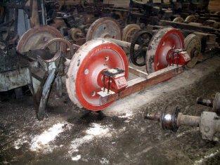 Zestawy kołowe AEG w TW