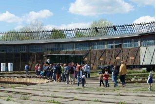 Dzień otwarty maj 2015 - grupa koło obrotnicy