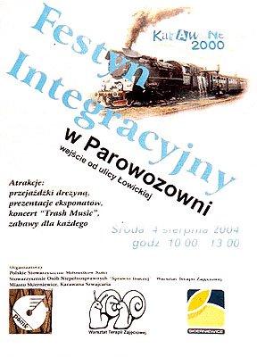 Festyn integracyjny - plakat