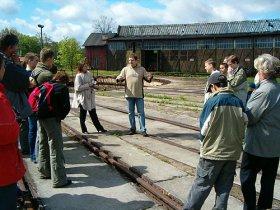 Rozpoczęcie sezonu turystycznego w Parowozowni