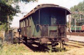 Nowy eksponat - wagon pruskiego pochodzenia