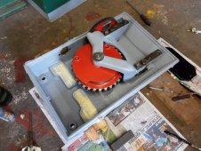 Zmontowane sprzęgło napędu zwrotnicowego