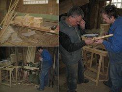 Stolarnia Falenty, montaż ławek
