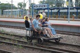 Dni Techniki Kolejowej, przejazd drezyną