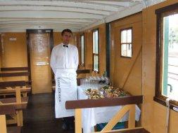 Catering w wagonie Steinfurt