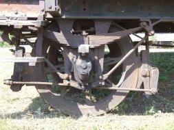 Wagon z Tuczna, węzeł maźniczy