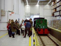 Pociąg mikołajkowy, zakłady VOG