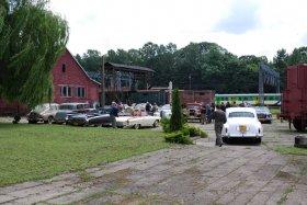 Zlot zabytkowych pojazdów w Parowozowni