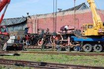 Ustawianie podwozia od Pd5 w Parowozowni