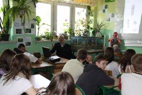 Wizyta w szkole w Gwizdałach