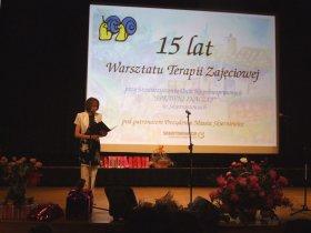 15-lecie Wrsztatów Terapii Zajęciowej