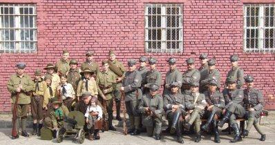 Pociąg z ochotnikami 1920, grupa rekonstrukcyjna