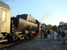 Pociąg z ochotnikami 1920, Parowozownia