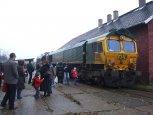 Święto Kolejarza 2010, lokomotywa spalinowa serii 66