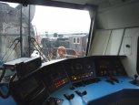 Święto Kolejarza 2010, kabina lokomotywy Maxima 40CC