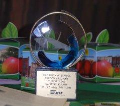 Targi Na Styku Kultur, nagroda Najlepszy Wystawca