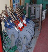 Organizacja wystawy USRK, elementy ławy dźwigniowej