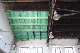 Naprawa dachu hali warsztatowej