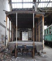Wagon piwiarka, demontaż ścian