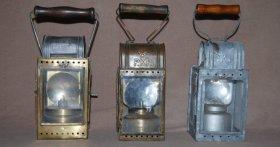 Karbidowe lampy konduktorskie