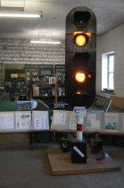 Wystawa USRK, semafor świetlny