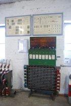 Wystawa USRK, aparat blokowy ze skrzynią kluczową