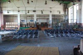 Teatr w Parowozowni, przygotowanie widowni